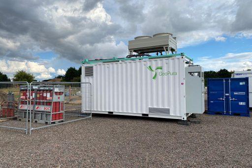 GeoPura Fuel Cell System at Viking Link