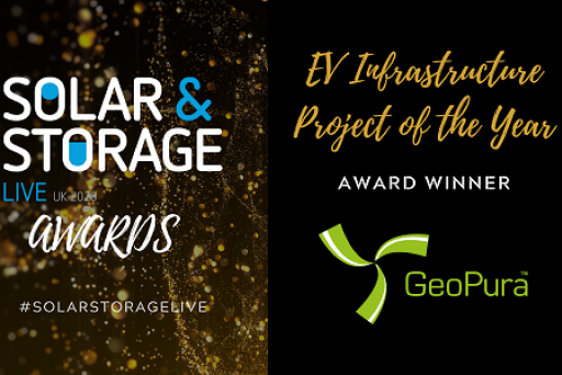 GeoPura wins EV Infrastructure Project of the Year